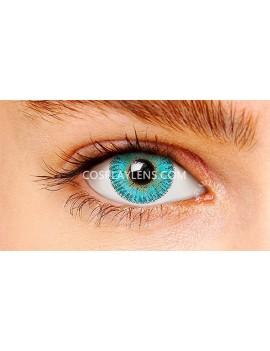 Ocean Aqua Natural Coloured Contact Lenses 14.5mm