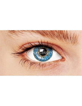 Ocean Blue Natural Unicorn Coloured Contact Lenses 14.5mm