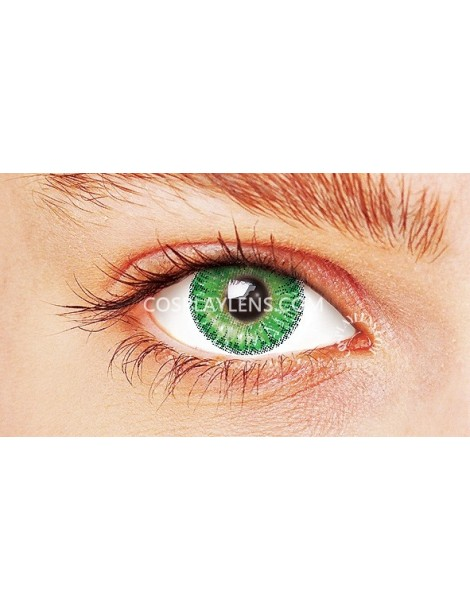 Ocean Green Natural Coloured Contact Lenses 14.5mm