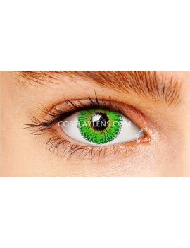 Ocean Light Green Natural Coloured Contact Lenses 14.5mm