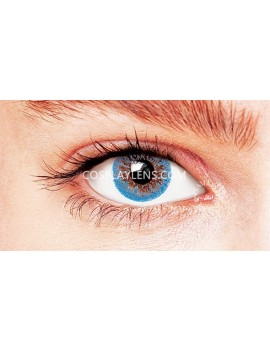 Natural Blue Coloured Contact Lenses 14.5mm