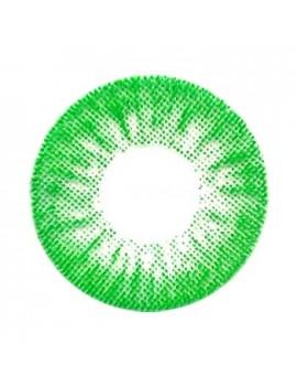 Natural Green Unicorn Premium Coloured Contact Lenses 14.0mm