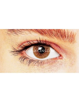 Natural Brown Coloured Contact Lenses 14.5mm