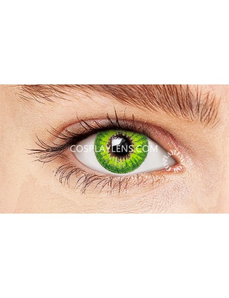 Sapphire Green Crazy Cosplay Contact Lenses