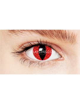 Snake Eye Crazy Cosplay Contact Lenses