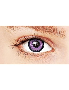 Fantasy Purple Crazy Cosplay Contact Lenses