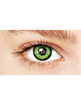 Fantasy Green Crazy Cosplay Contact Lenses