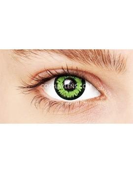 Fantasy Green Unicorn Crazy Cosplay Contact Lenses