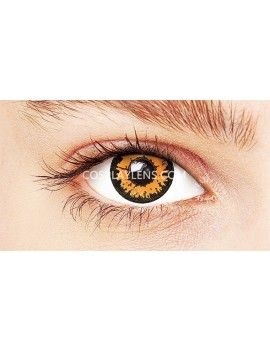 Fantasy Honey Brown Crazy Cosplay Contact Lenses