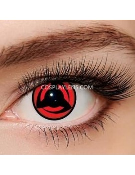 Kakashi Red Sharingan Unicorn Crazy Cosplay Contact Lenses