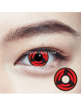 Kakashi Red Sharingan Crazy Cosplay Contact Lenses