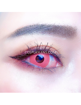 Light Pink Unicorn Crazy Cosplay Contact Lenses