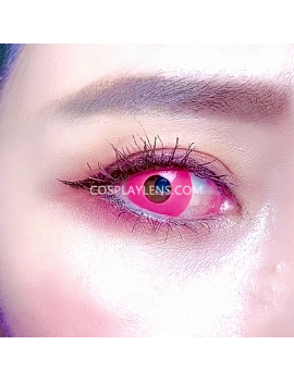 Light Pink Crazy Cosplay Contact Lenses