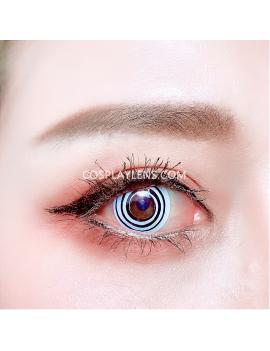Spiral Crazy Coloured Cosplay Contact Lenses
