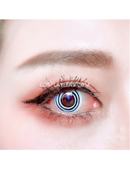Spiral Crazy Coloured Cosplay Contact Lenses