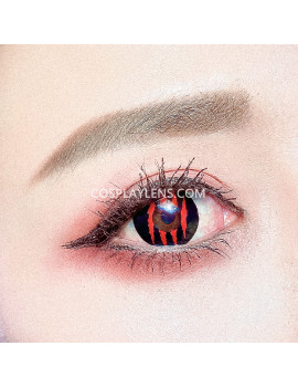 Red Claw Crazy Cosplay Halloween Contact Lenses