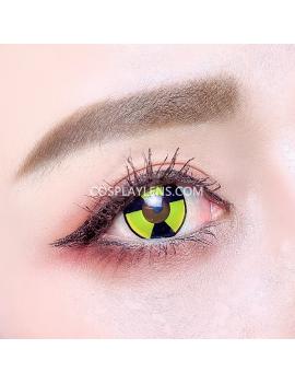 Radioactive Warning Crazy Cosplay Contact Lenses