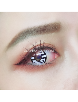 Optical Illusion Spider Crazy Unicorn Cosplay Contact Lenses