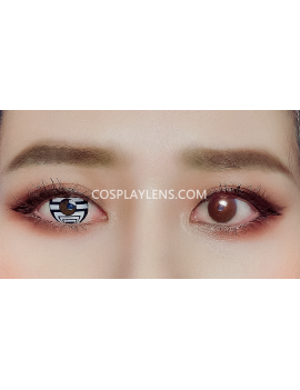 Optical Illusion Spider Crazy Cosplay Contact Lenses