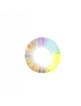 Unicorn Rainbow 4 Tone Coloured Cosplay Contact Lenses