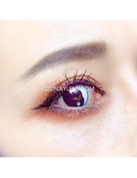 Ying Yang Unicorn Coloured Cosplay Contact Lenses