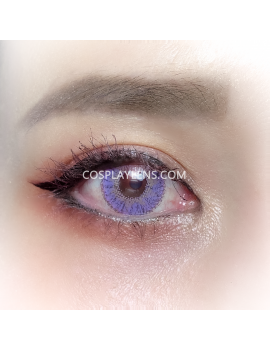 Ocean Purple Natural Unicorn Coloured Contact Lenses 14.5mm