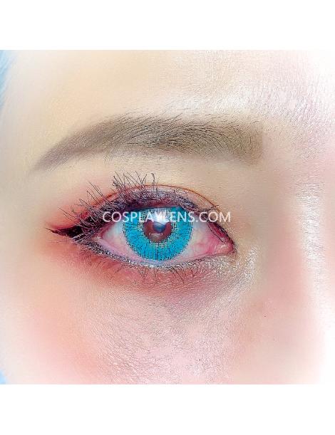 Ocean Aqua Natural Coloured Unicorn Contact Lenses 14.5mm