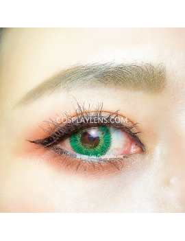 Ocean Green Natural Unicorn Coloured Contact Lenses 14.5mm