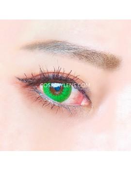 Sapphire Green Unicorn Crazy Cosplay Contact Lenses