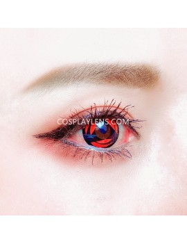 Kakashi Red Sharingan Unicorn Crazy Cosplay Contact Lenses