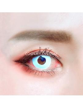 Zombie White Unicorn Crazy Cosplay Contact Lenses